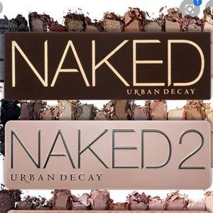 Urban decay naked + naked 2 bundle